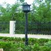 metal lighting pole cast iron lamppost