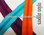 3#5#8#10#nylon zipper long chain