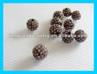 C1810 Fashion shamballa beads for bracelet wholesale