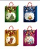 Christmas fashion gift bag,new arrived shopping bag,selling hot beautiful paper bag