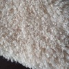 100% polyester curly pv plush fabric, toy plush