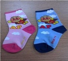ANPANMAN KIDS' SOCKS/CHILDREN COTTON SOCKS