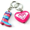 led soft pvc key chain for promotion