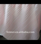 2011 Beautiful Chiffon Pleat for Wedding Dress Knitted fabric