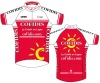 CS-006 Men's sublimated cycling jersey , bicycle apparel