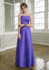 Flat Long Sheath Sweetheart Bridesmaid Dress Wedding Reception Outfits For Women BD-A070