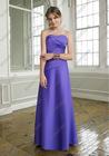 Flat Long Sheath Sweetheart Bridesmaid Dress Wedding Reception Outfits For Women BD-A070