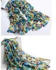 women's fashion custom silk scarf