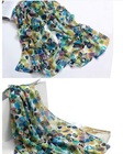 women's fashion custom silk scarf