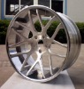 concave and brush forged aluminum wheel