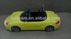 Portable FM radio laptop mini digital car shape USB mobile speaker