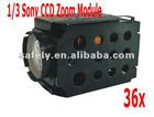 650TVL 1/3 sony HD zoom camera module