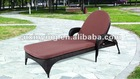 2012 outdoor rattan sun loungers with wheels