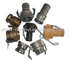 Camlock hose quick coupling (Aluminum, brass, stainless steel 316/304, Nylon & PP)