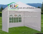 Aluminum pop up tent