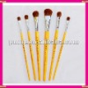 horse hair paint brush set