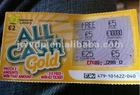 Bingo Card Instant Prize