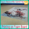 Printing on Foam Board