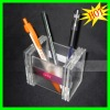 clear acrylic pen holder
