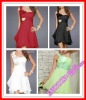 Special Price On Sale Sexy One-shoulder Short Chiffon In Stock Ready Party Dress Homecoming Dresses XYY004-120