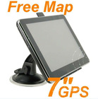 "7"" 7inch gps gps navigation touch screen av in bt mp3 mp4 hot sale"