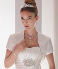 2011 new styles short sleeve wedding bolero JK031
