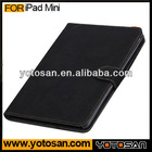 Best Selling Belt Clip Leather Case Cover For iPad Mini