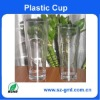 Transparent Acrylic Xili plastic cup,AC plastic cup