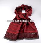 European stylish red viscose scarf