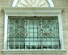 decorative iron window