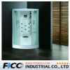 Acrylic one person steam room with tempered glass FC-108