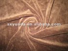 65 Polyester 35 Cotton brushed velvet fabric for sofa or curtain
