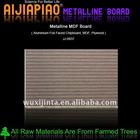 Aluminium MDF