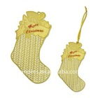 Christmas Metal ornament---Christmas Stocking