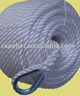 white pp twisted rope with competitive price