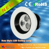 New style 3W Bead face recessed LED Ceiling light