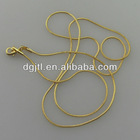 gold plated snake chain