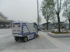new energy power electrical road sweeper for sanitation use