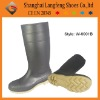 High heel PVC safty boot
