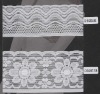 Knitted lace,Crochet elastic lace,elastic lace.