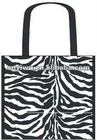 Laminated Non woven shopping promotion bags ZEBRA Eco-Friendly