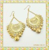 Gold Earrings Costume Imitation Jewelry
