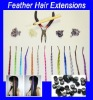 Feather Hair Extensions wigs