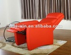 Leather lounge chair EM001