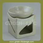 Ceramic Pearl color deep bowl modern oil warmers