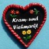 poly heart souvenir