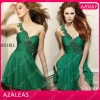 AZ0607 Beading Rhinestone Sexy Green Cocktail Dresses 2012