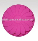 round silicone cup pad