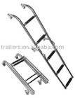 Stern mounting fold ladder