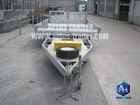 2500KGS Cherry Picker Trailer Excavator trailer